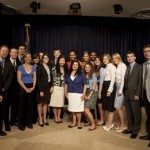First Lady Michelle Obama with my service-learning group