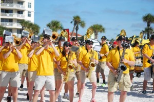 Outback Bowl Beach Day!