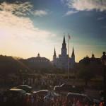 "Yemu- "" Jackson square, New Orleans, baby!"""