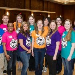 OnIowa! Excel Committee decked out in our squad shirts :)