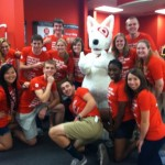 The front crew at Target Takeover with Bullseye