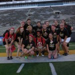 Red Squad on Kinnick Field(minus a couple leaders)