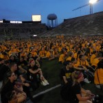 The whole class of 2018 at Kinnick!