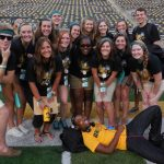 Teal Squad! Hanging out on Kinnick #FeeltheTeal
