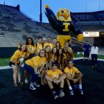 My last group of first years on Kinnick. They were a great group and I hope I was able to help them a little bit.