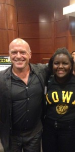 Dean Norris & I, the night before the #ProblemSolver Convention