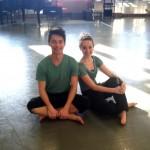 Rehearsal posing